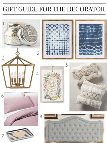 Gift Guide: The Decorator