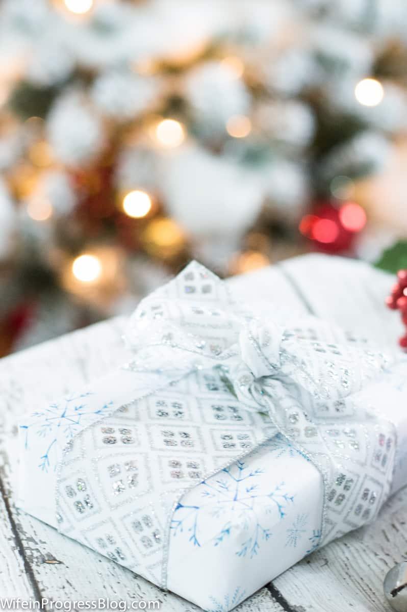 Christmas Gift Wrap 3 Wife In Progress