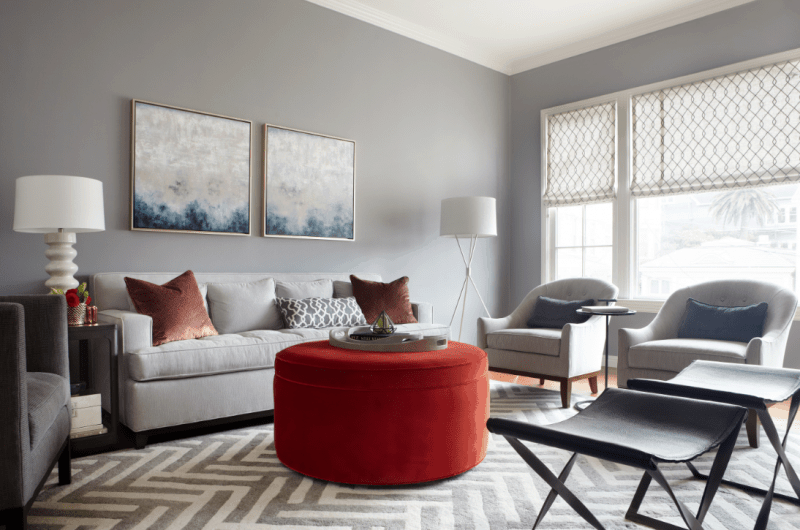 5 Reasons why your home decor does not look cohesive: you do not have a defined color palette