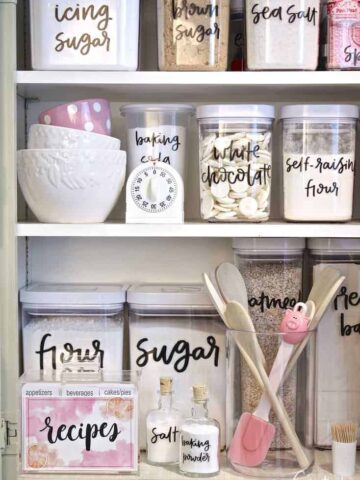 Label and Pantry