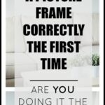 how to hang a picture frame | picture frame placement | hanging artwork correctly