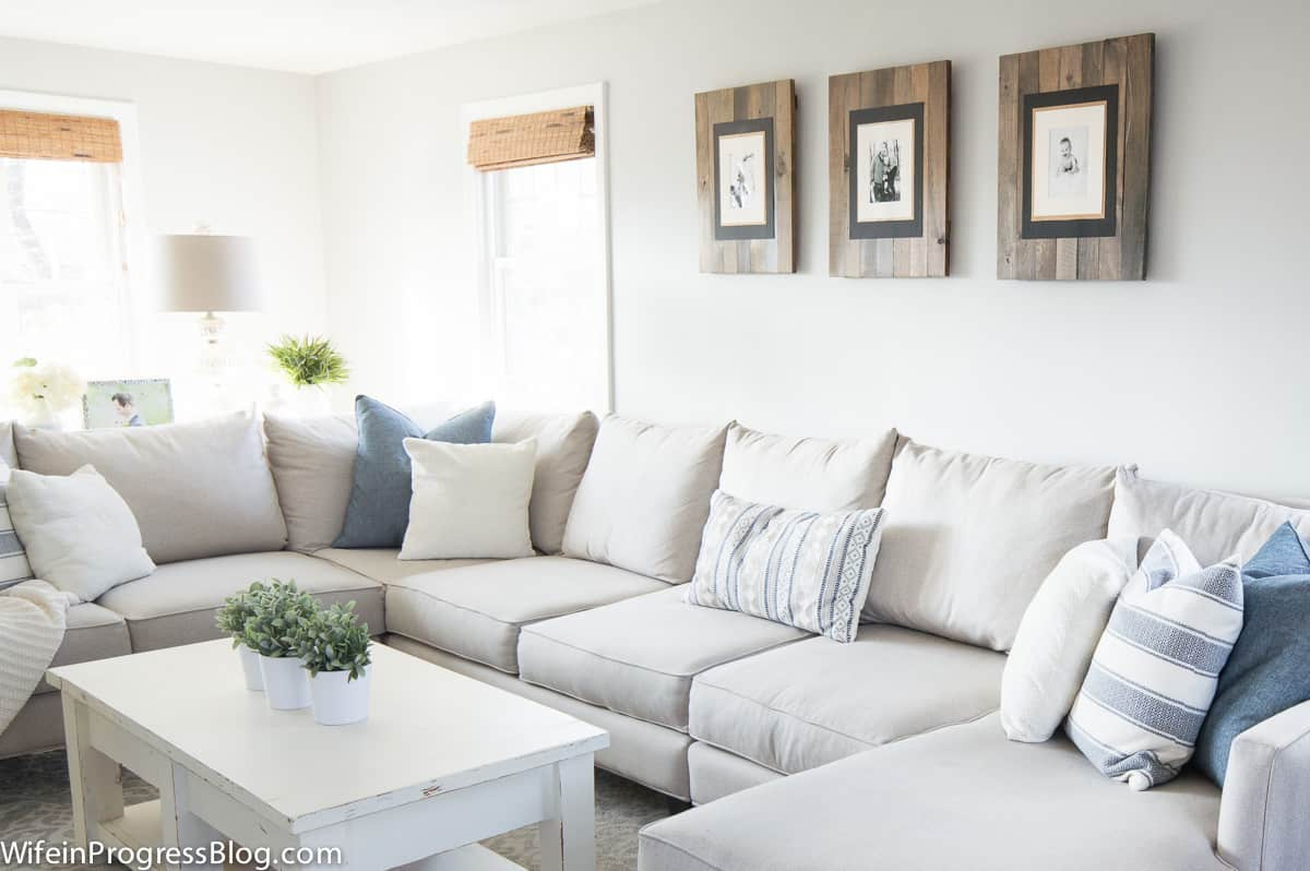 Living Room Decor During the Winter   Jenna Kate at Home