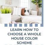 How to choose a whole house color scheme