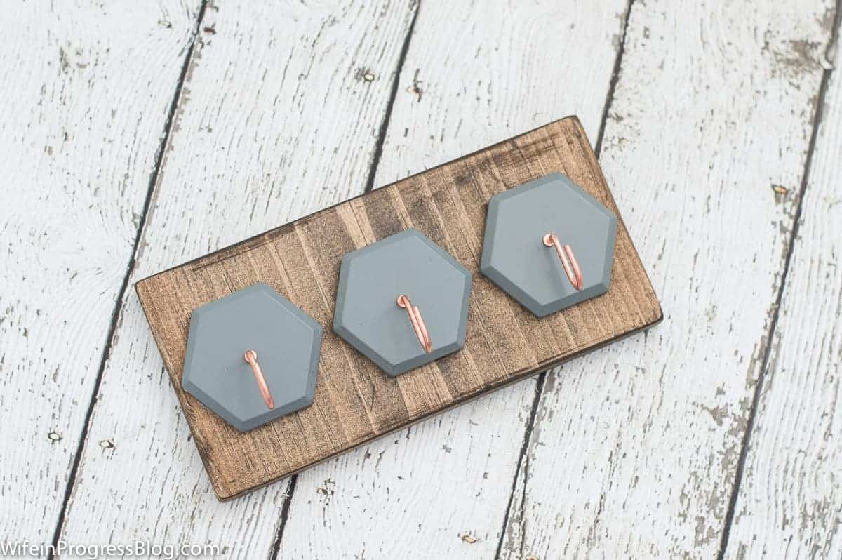 Diy Key Holder A Quick And Effective Organizational Project