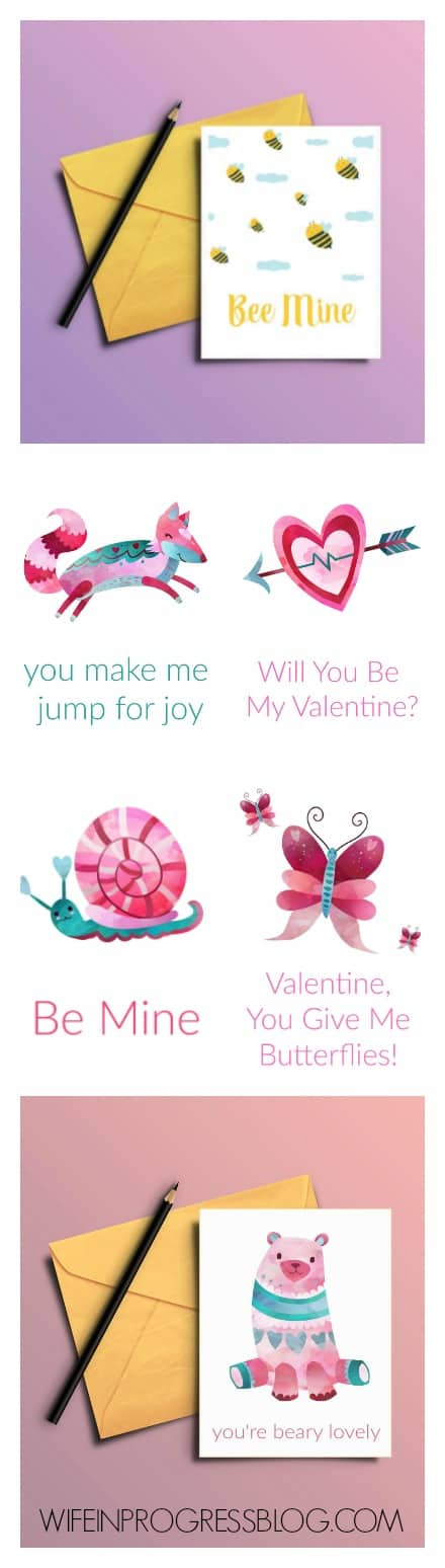 Free printable Valentines Cards for you to download