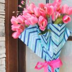 Spring Umbrella Square Wreath