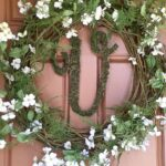 DIY Fern and Dogwood Spring Wreath