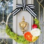 Floral Spring Wreath: Beautiful Spring Wreath Ideas