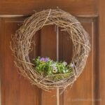 Living Grapevine Wreath