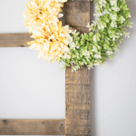 Yellow Dahlia Spring Wreath