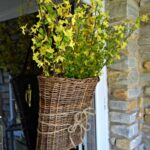Spring Front Door Basket