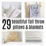 29 Beautiful Fall Throw Pillows and Blankets