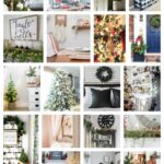 34 talented home decor bloggers share their Christmas ideas for the home throughout 5 days of home tours