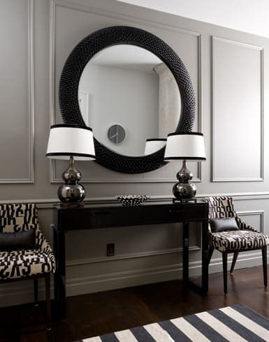 Painted wainscoting adds so much character to an otherwise simple space