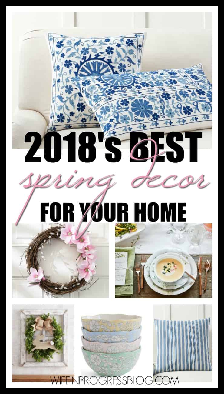 Spring home decor ideas for your own home! You'll love these!