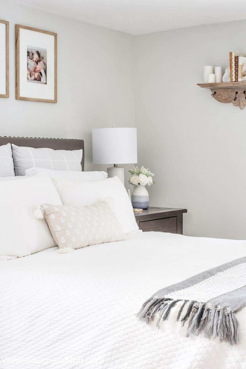 Small Master Bedroom Makeover Before After Paint Colors More