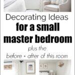 Small master bedroom ideas Pinterest