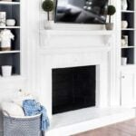 DIY Tutorial: How to Paint a Brick Fireplace