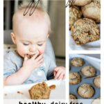 Need a healthy snack for your fussy toddler? These healthy muffins are filled with carrot and zucchini and naturally sweetened with raisins and applesauce.