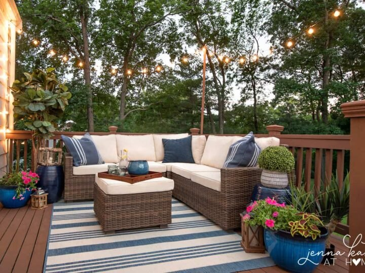To Hang String Lights On Your Deck, How To Put Up String Lights On Patio