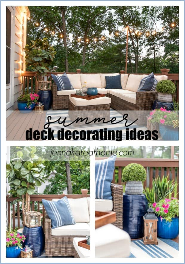 Decorating Ideas For a Small Deck: Tips For Creating A Backyard Oasis