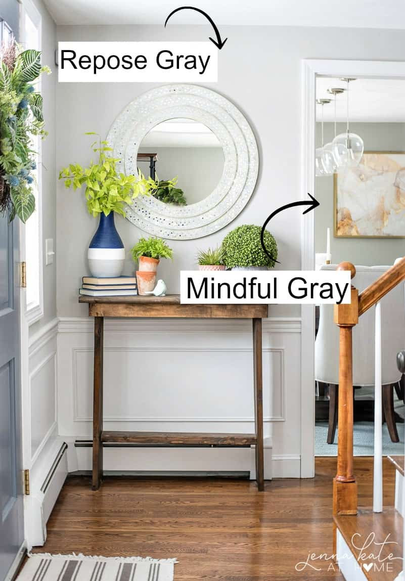 Sherwin Williams Mindful Gray: One of My Favorite Paint Colors