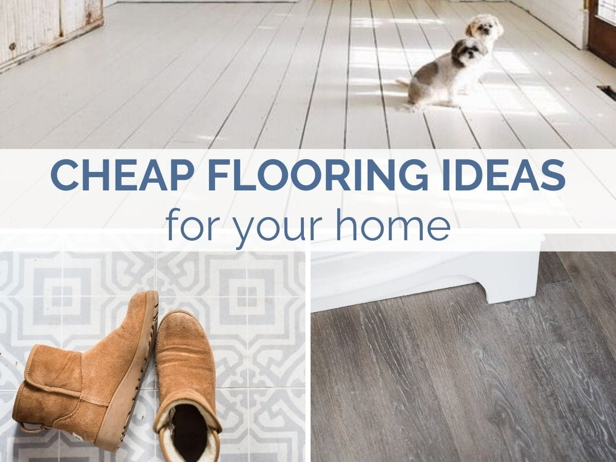 cheap flooring ideas for your home