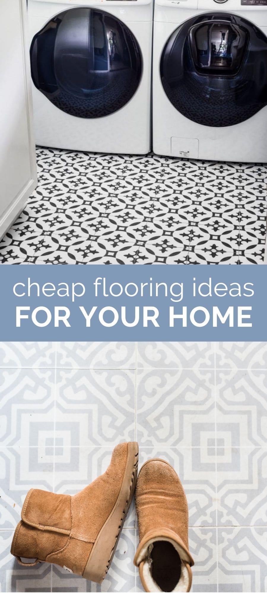 cheap flooring ideas for the home