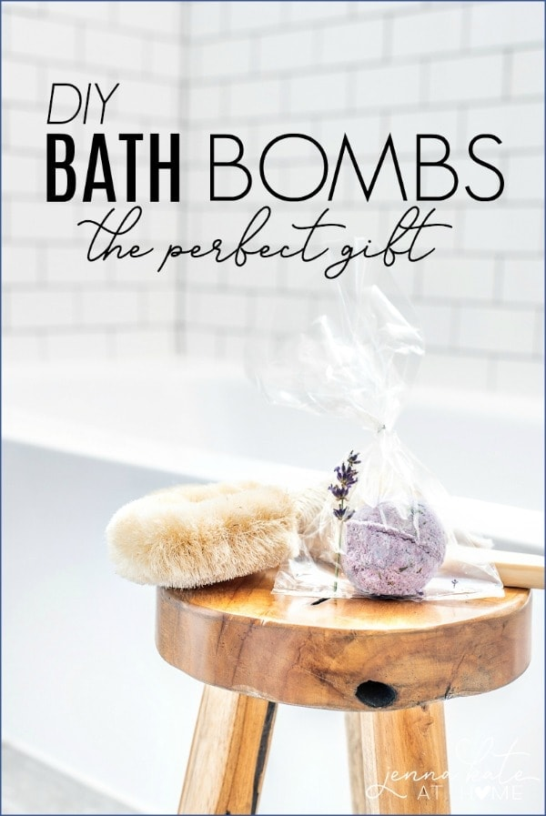 DIY Bath Bombs are not only easy to make but so fun, too!