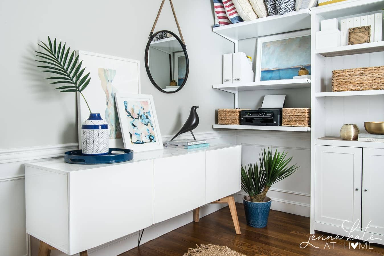 Smart small home office layout