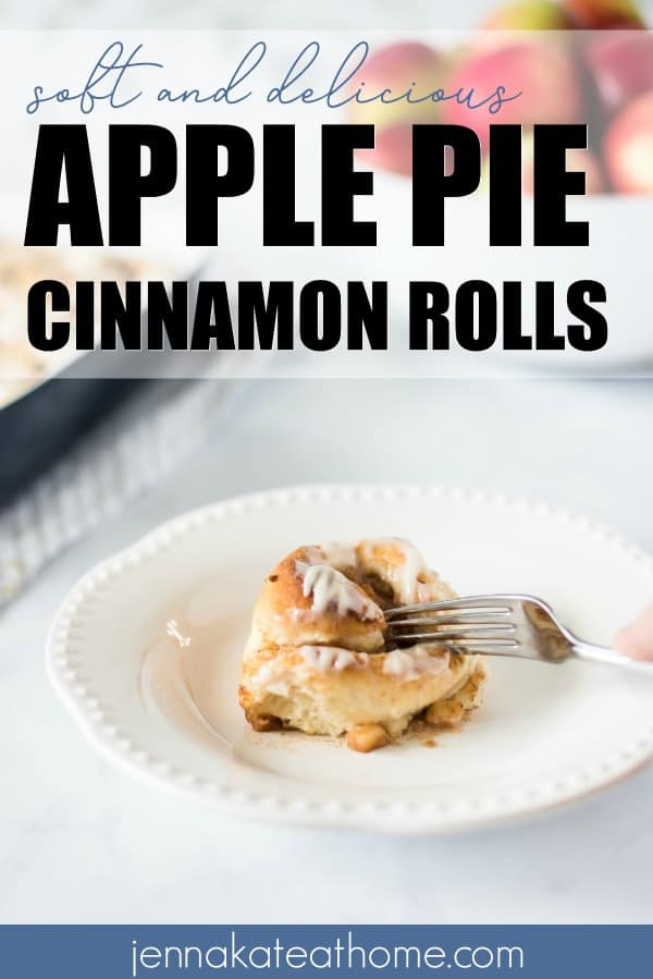 Pillsbury has nothin' on these soft and delicious cinnamon rolls with apple pie filling. Say goodbye to store-bought and hello to homemade with this easy recipe that's perfect for breakfast, dessert or coffee.