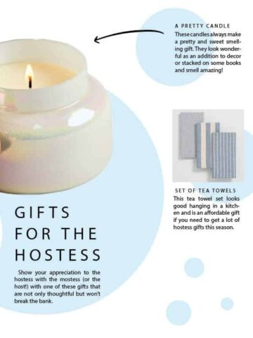 hostess gift guide 2018