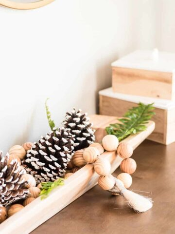 Non Christmas winter decorating ideas for January