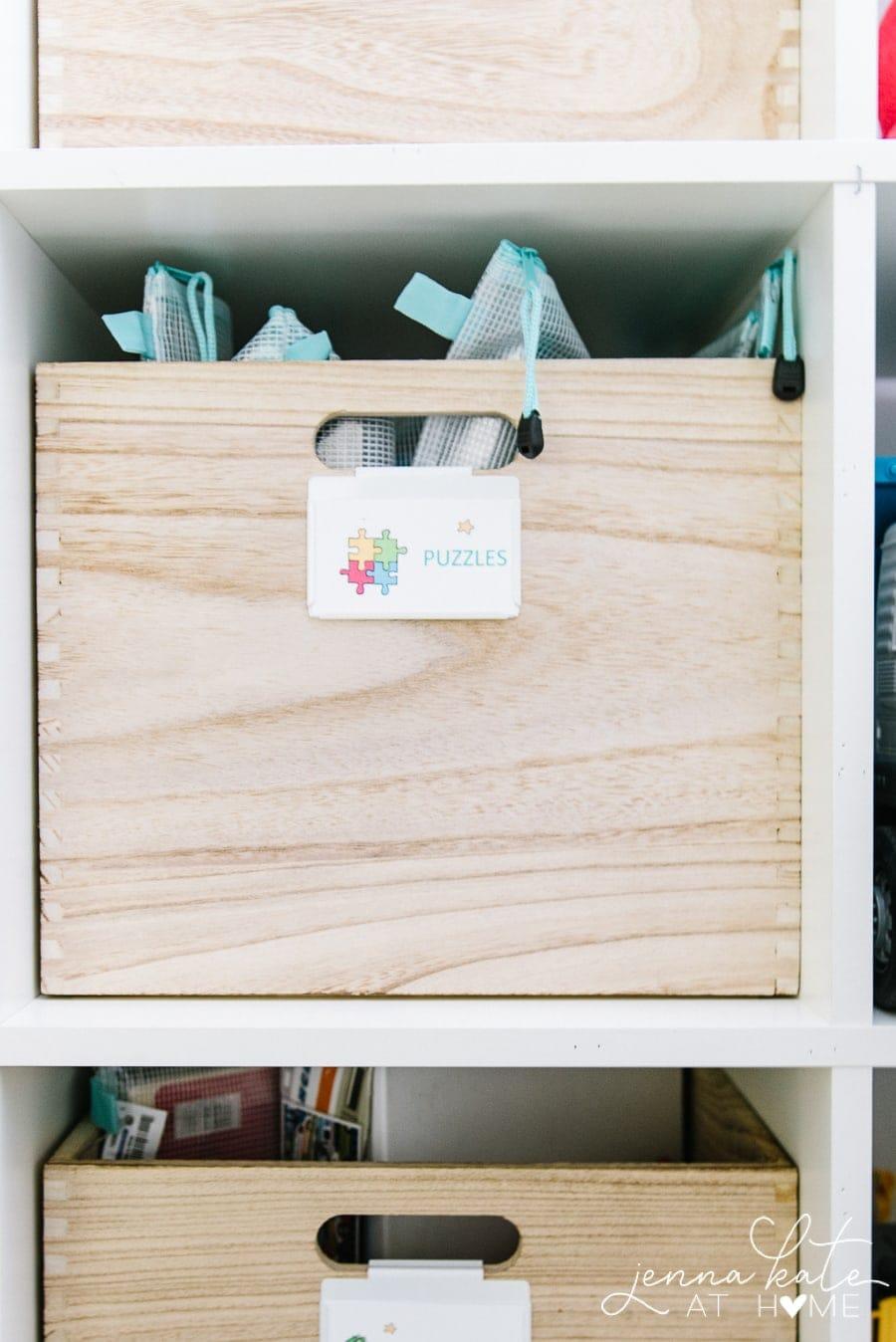 Playroom toy organization hacks and storage ideas