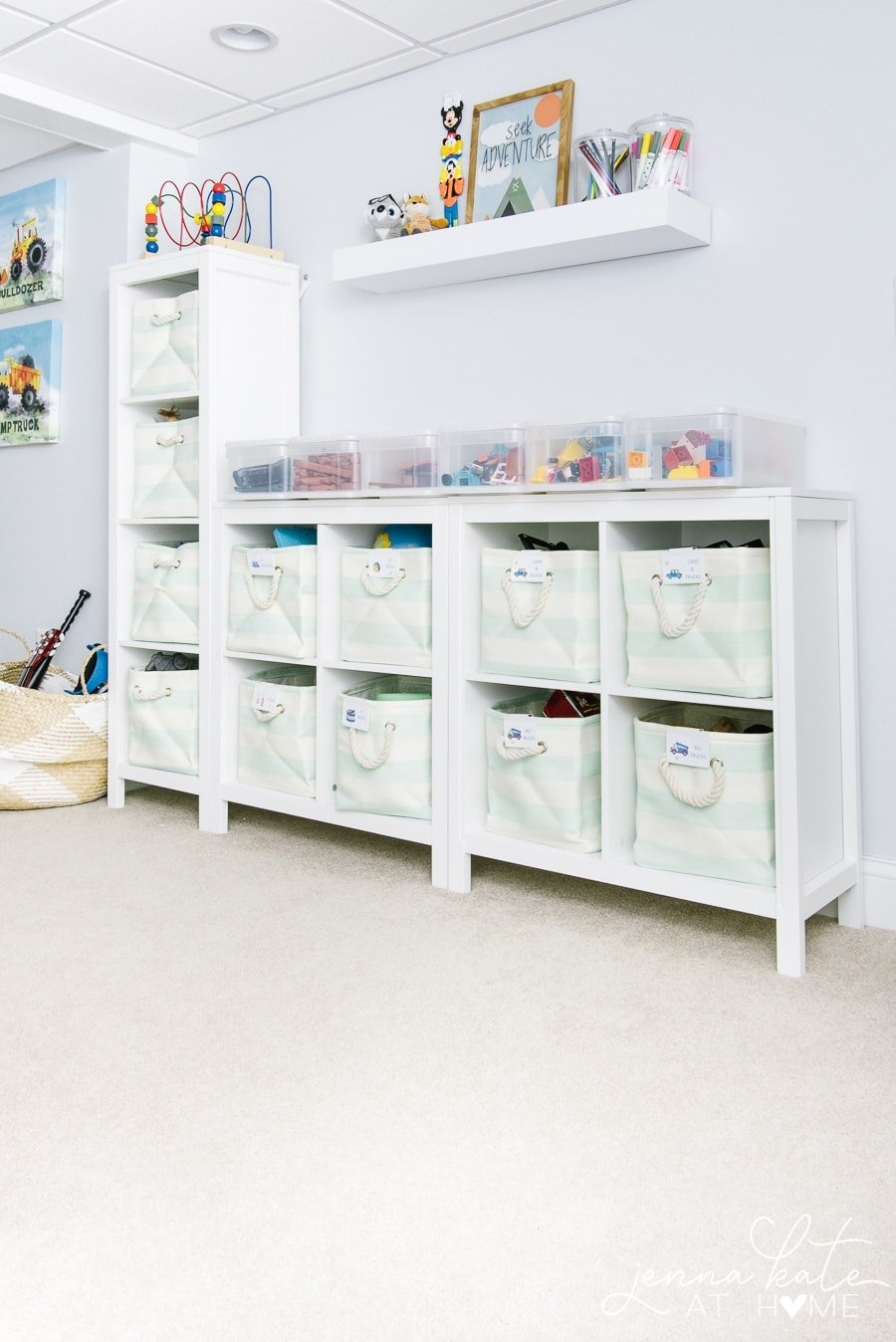 Playroom organization ideas for toddlers