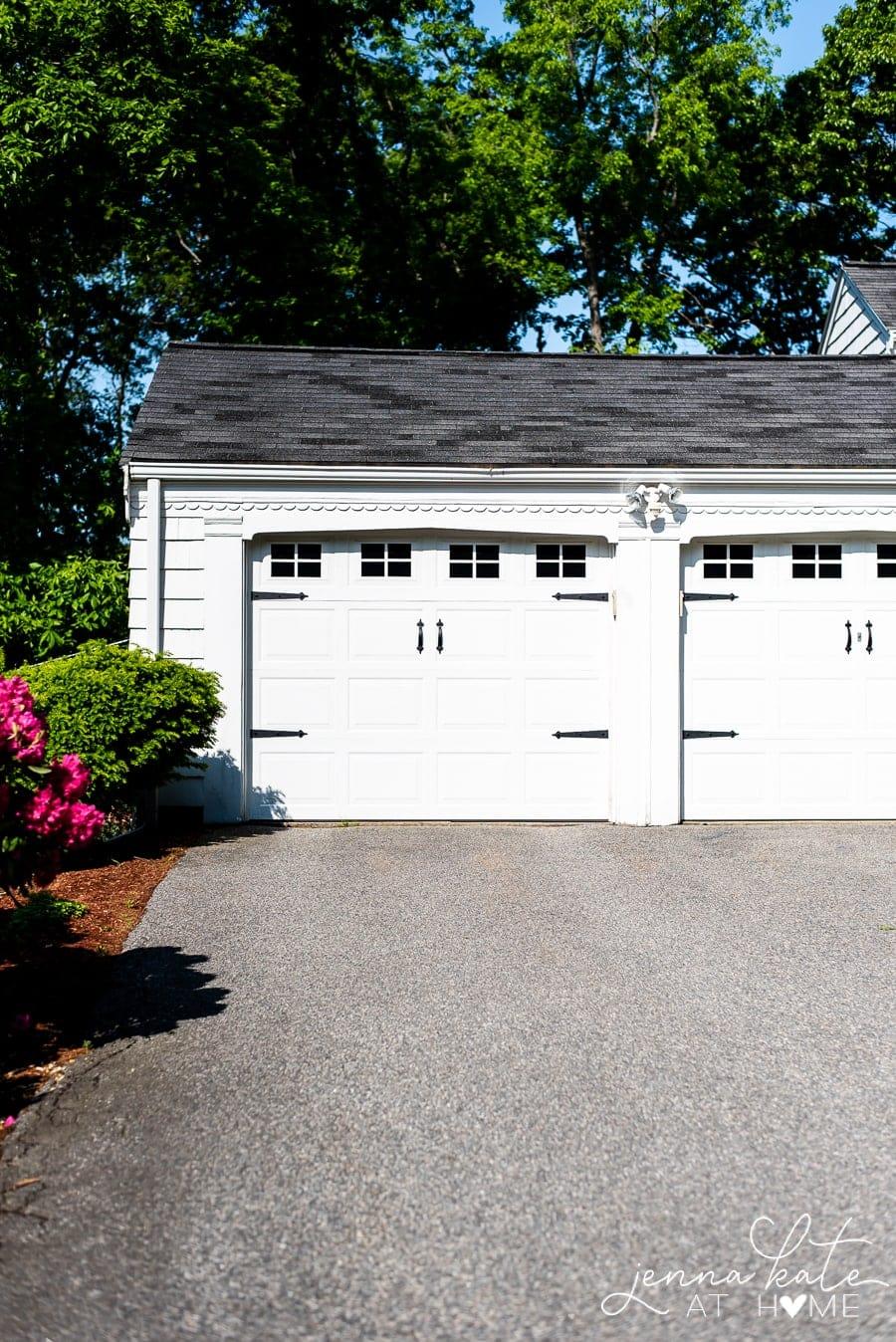 Easy Garage Door Makeover Jenna Kate At Home