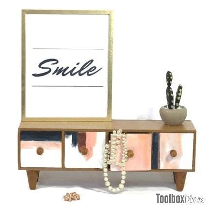 Organize jewelry diy
