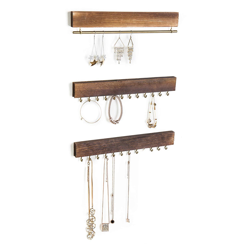 hanging necklace holder