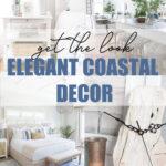 Elegant coastal decor pin