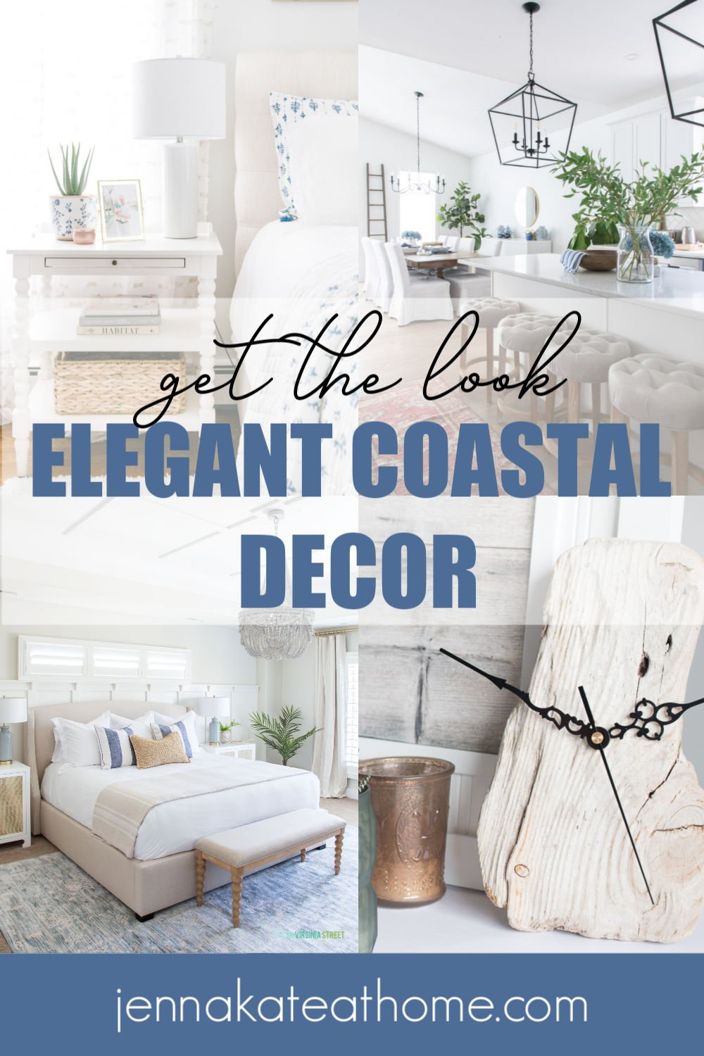 Elegant Coastal Décor Jenna Kate At Home