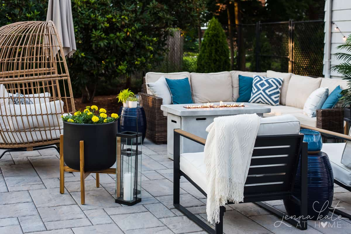 Boho style patio decor ideas