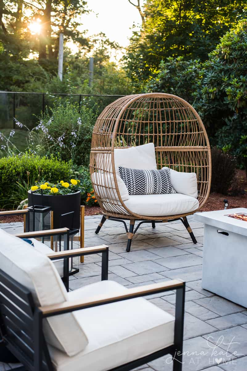 Boho inspired outdoor patio decor ideas