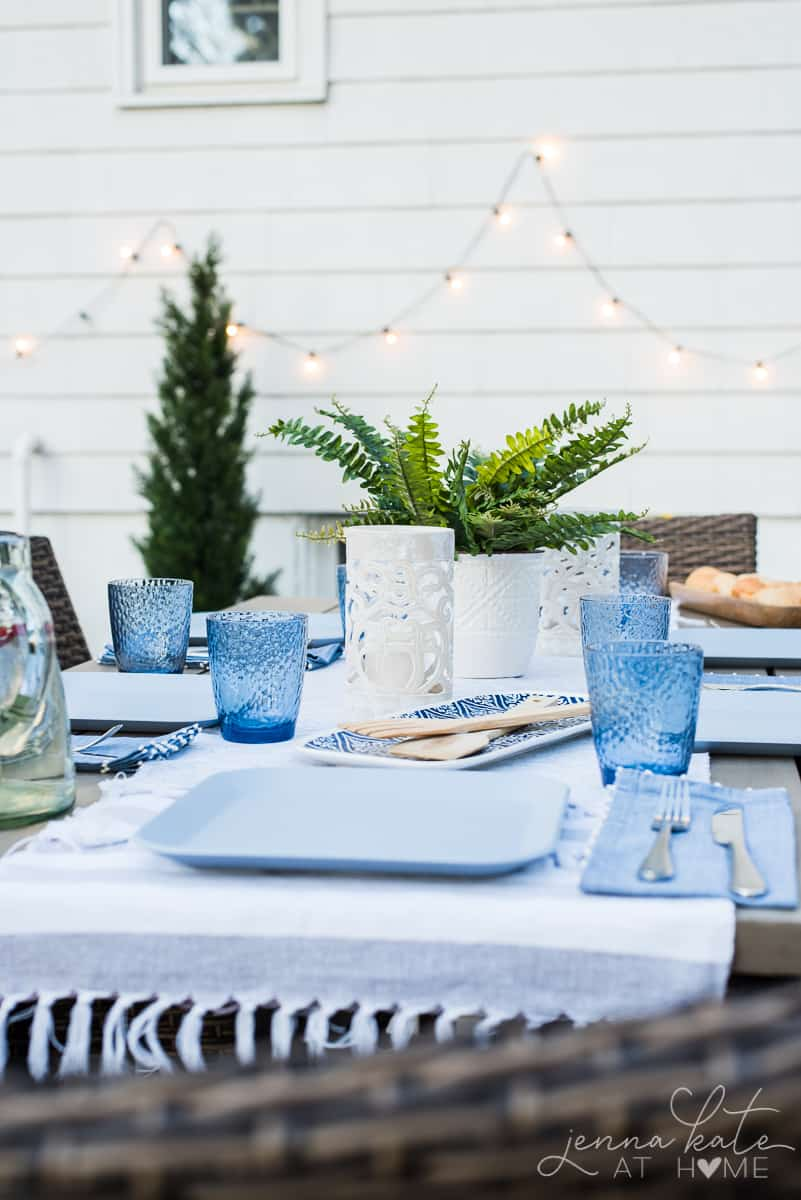 Coastal inspired patio decor ideas