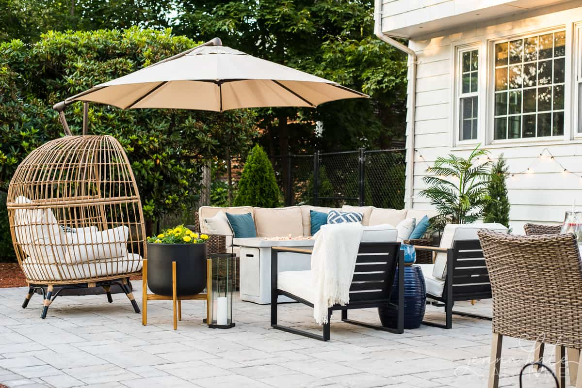 Patio makeover and design