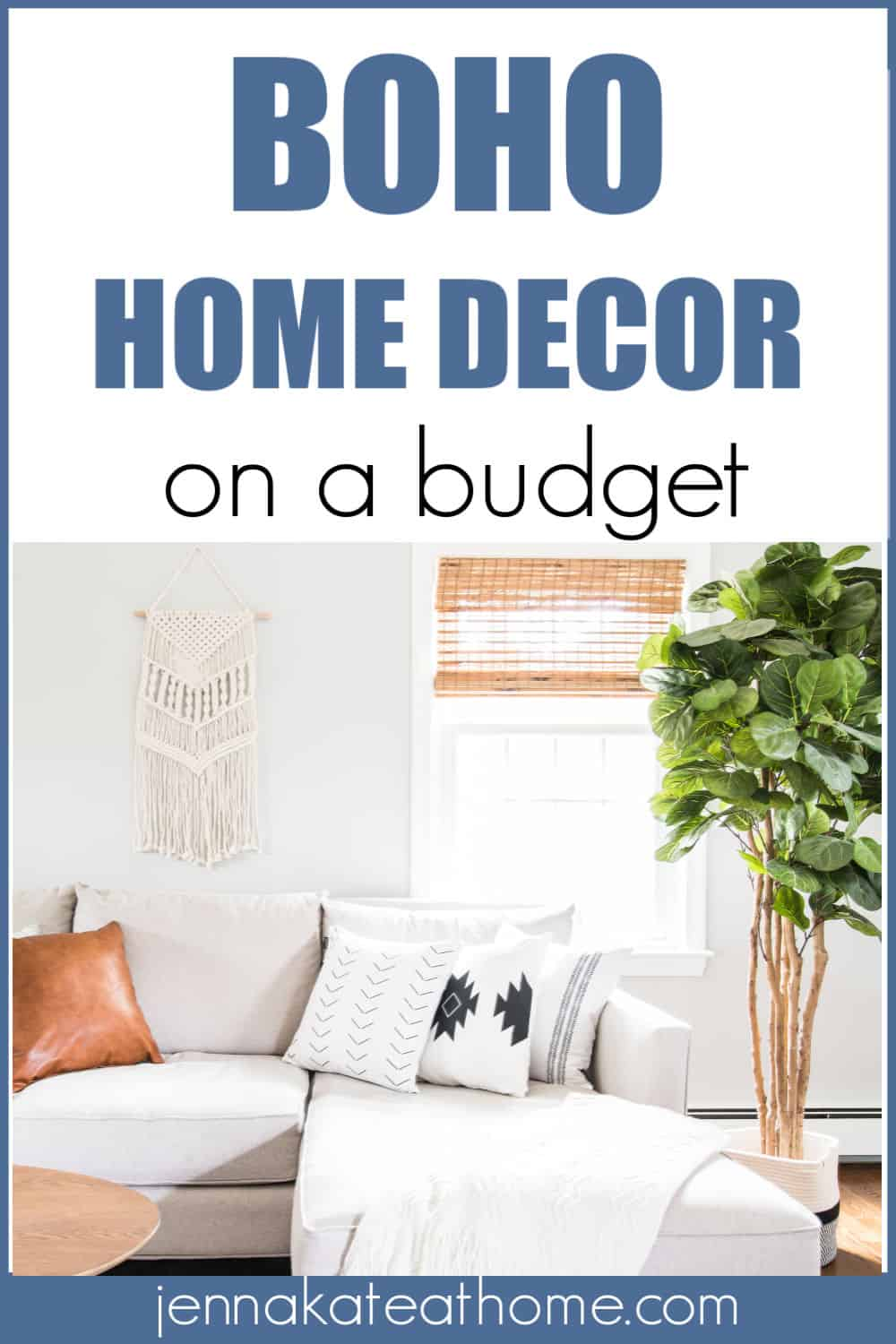 Bohemian home decor on a budget from Amazon