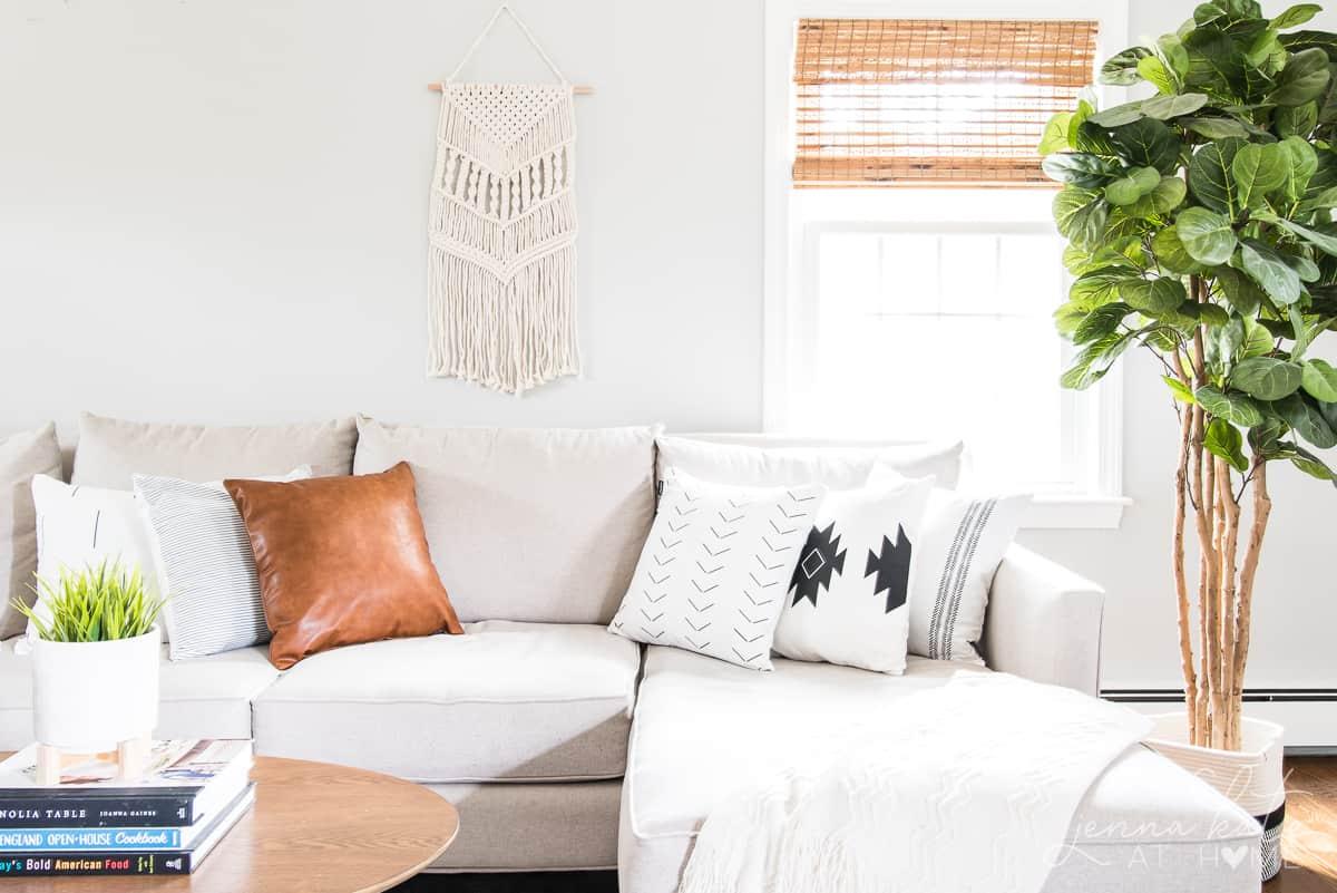 How to get boho home decor style on a budget