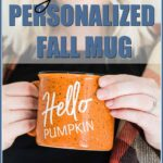 diy personalized mug for fall