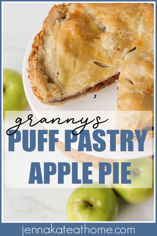 puff pastry apple pie recipe