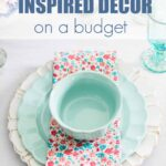 vintage inspired decor on a budget