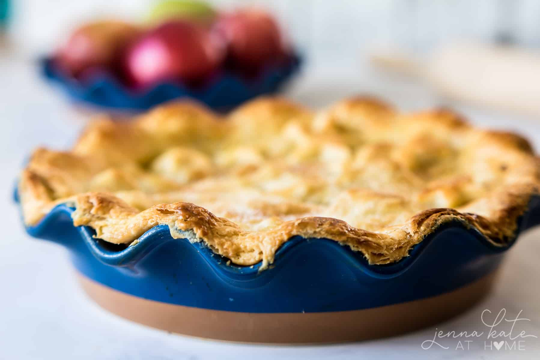 This super easy, flaky pie crust is a fool-proof recipe